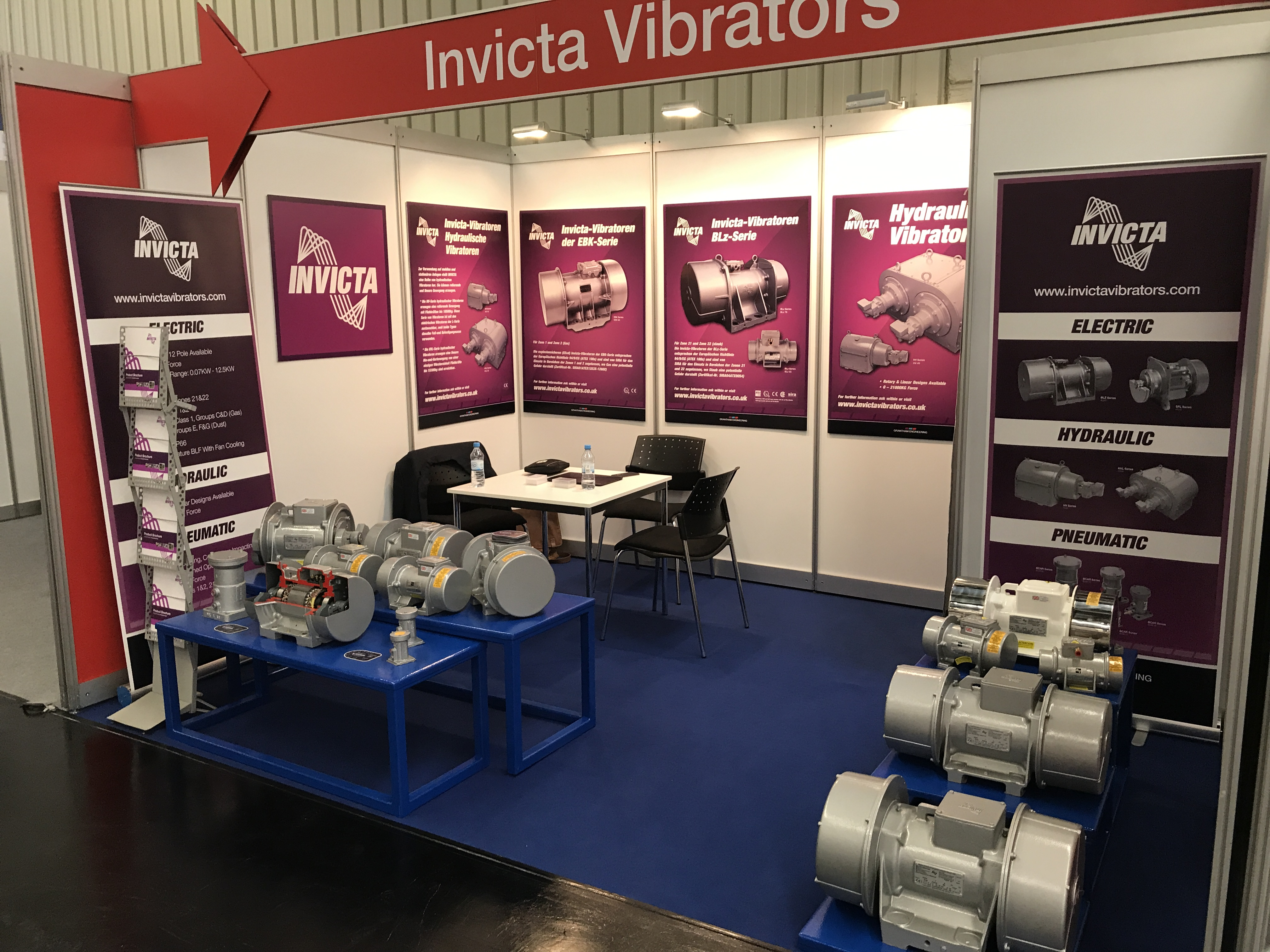 Invicta Vibrators at Powtech 2017