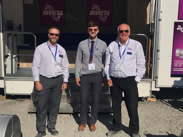 Invicta Sales Team at Hillhead 2018